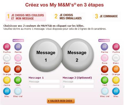 M&M's personnalisés